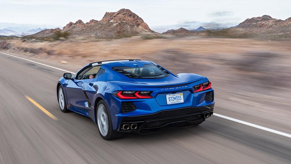 The 2020 Corvette Stingray.
