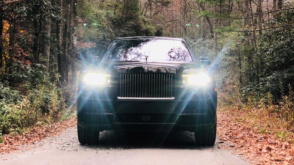 The Rolls-Royce Cullinan Black Badge.