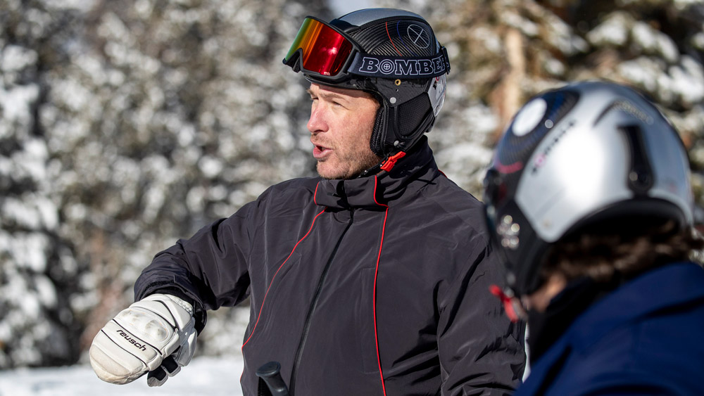 Olympic medalist and five-time World Champion ski racer Bode Miller.