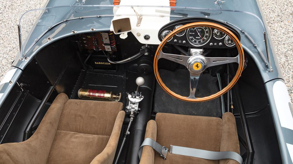 An award-winning 1958 Ferrari 335 S Spyder.