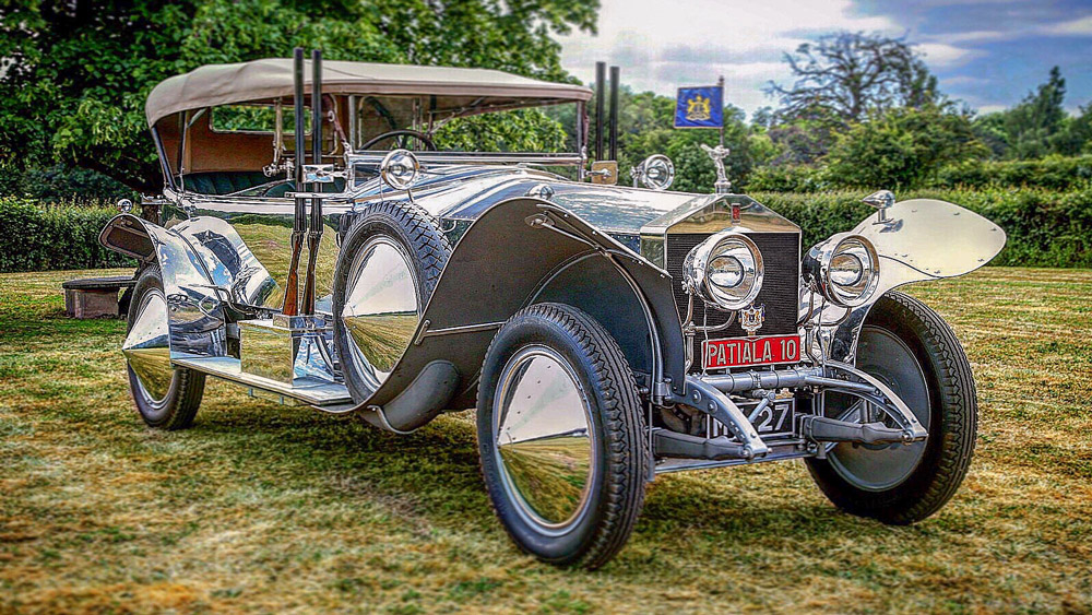 The 1919 Rolls-Royce Silver Ghost Torpedo Skiff crowned Best of Show at the 2019 Concours of Elegance Hampton Court Palace.