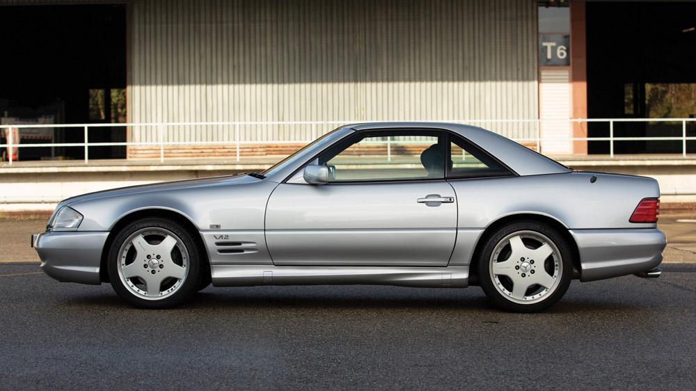 A 1998 Mercedes-Benz SL 70 AMG.