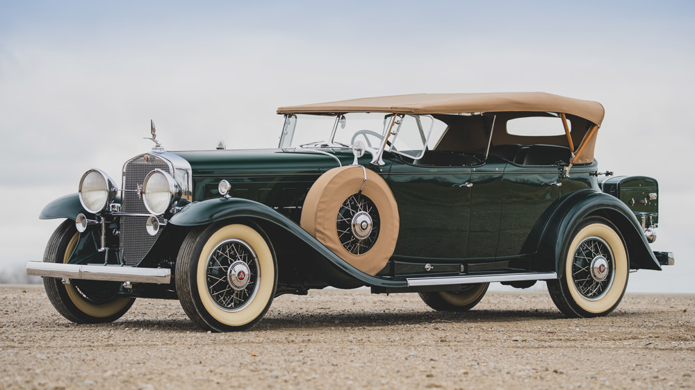 A 1930 Cadillac V16 Sport Phaeton.