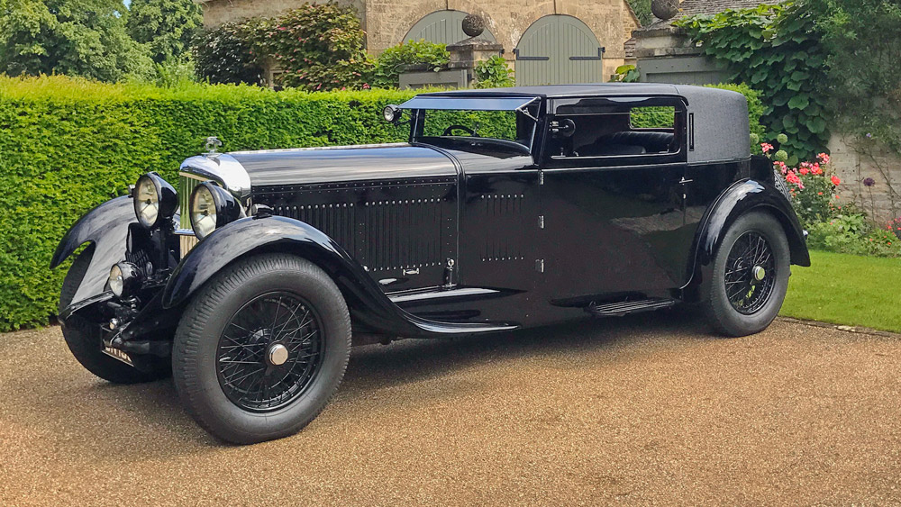 This 1931 Bentley 8 Litre Foursome Coupe captured Best of Show at the Chantilly Arts & Elégance Richard Mille.