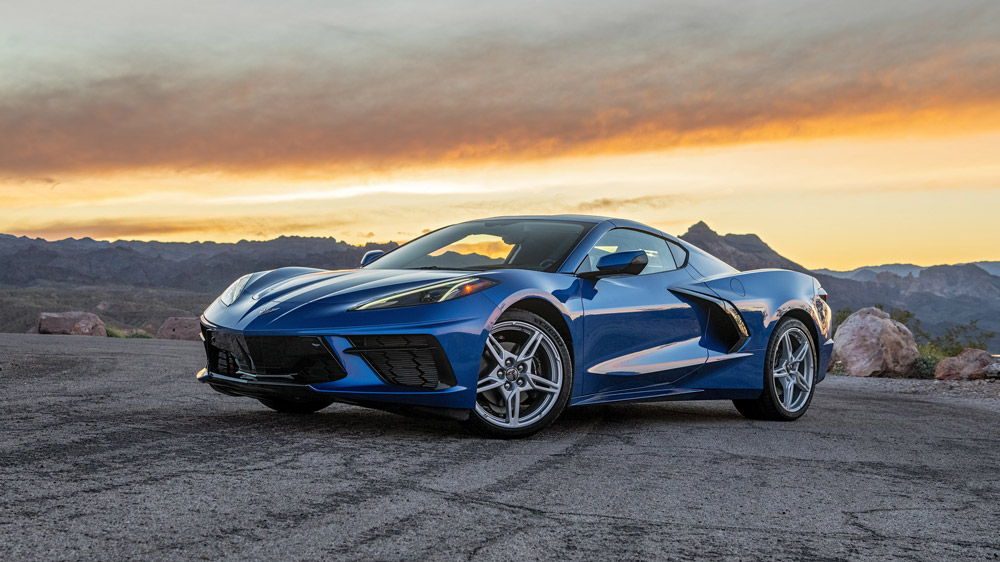 The 2020 Corvette Stingray.
