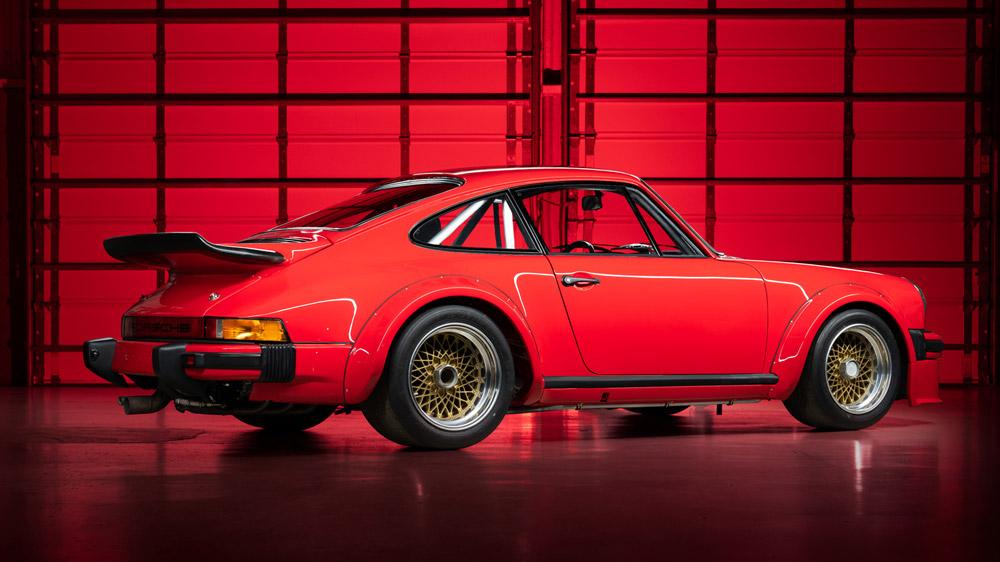 A 1976 Porsche 934.