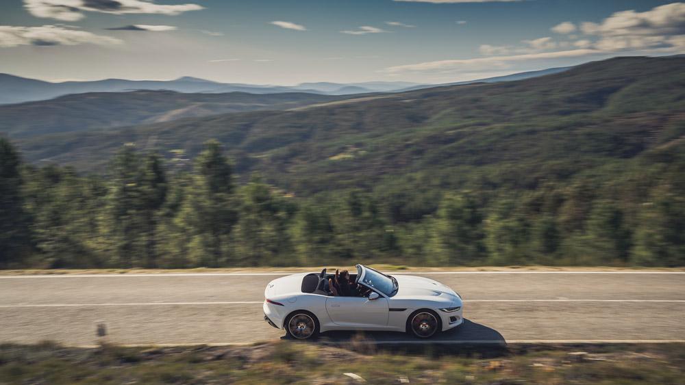 The 2021 Jaguar F-Type Convertible.