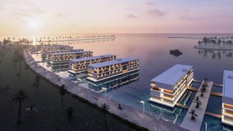 Qatar Doha floating hotel FIFA World Cup 2022