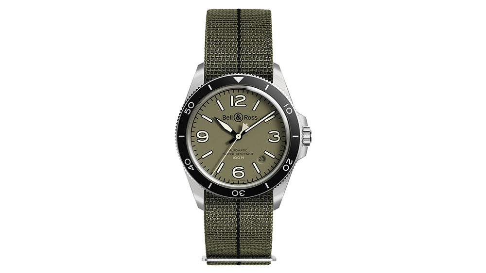 Bell & Ross BRV2-92 Military Green