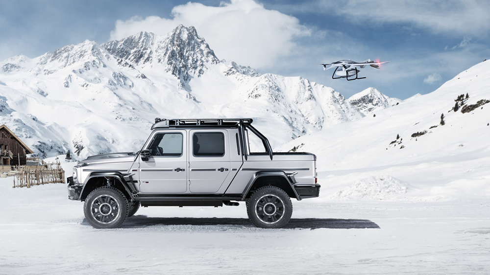 The Brabus 800 Adventure XLP