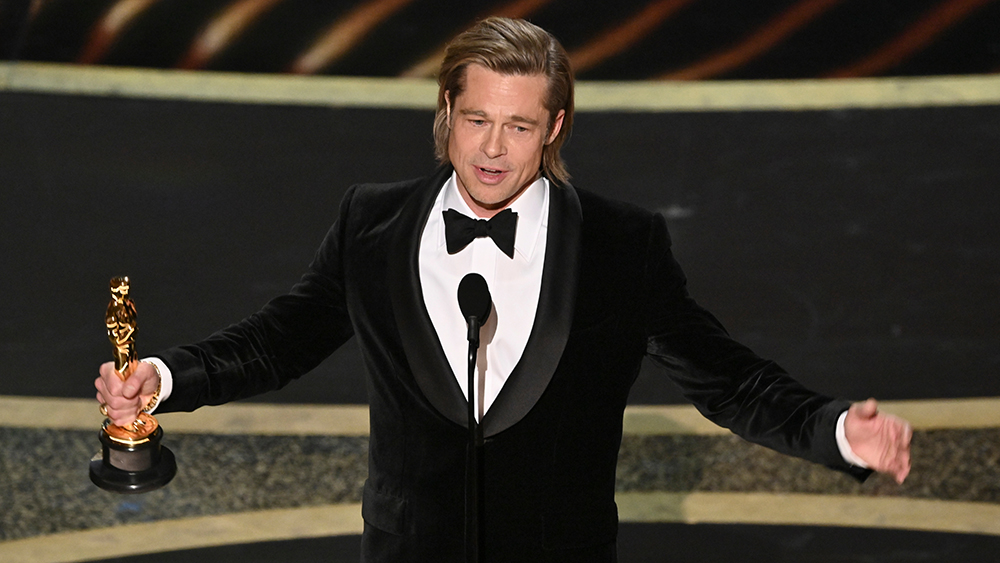 Brad Pitt - Supporting Actor - Once Upon a Time... in Hollywood92nd Annual Academy Awards, Show, Los Angeles, USA - 09 Feb 2020