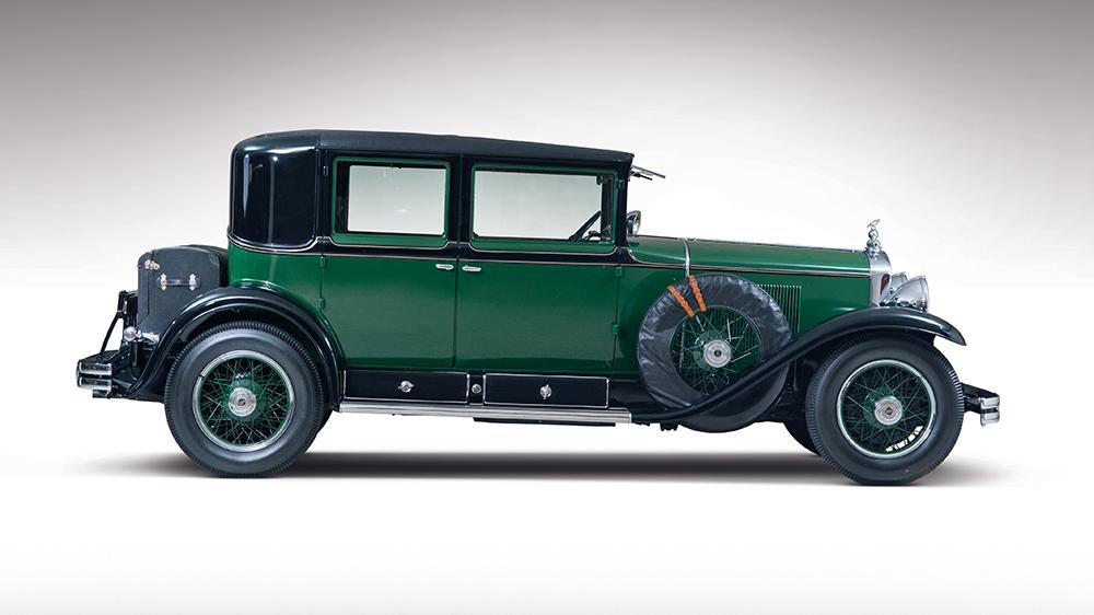 Al Capone's bullet-proof 1928 Cadillac Town Sedan