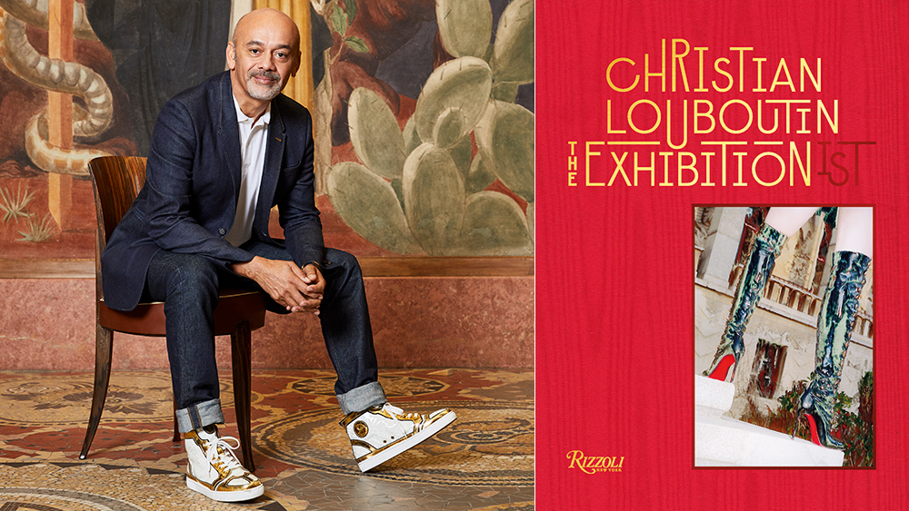 Christian Louboutin opens L'Exhibition(iste) in Paris; a new Rizzoli book chronicles the show.