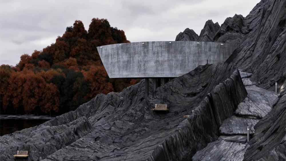 Reza Mohtashami's Concrete House concept
