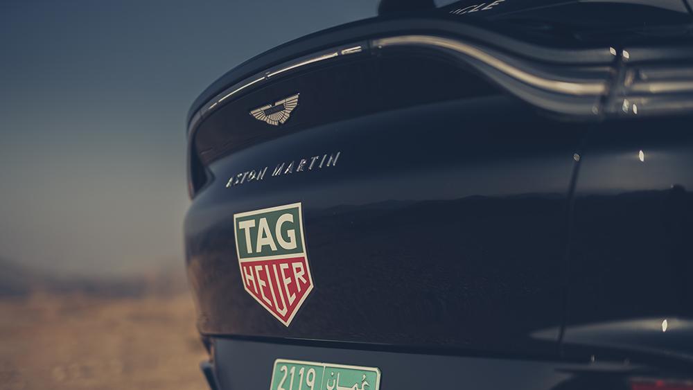 Aston Martin DBX Prototype in Oman