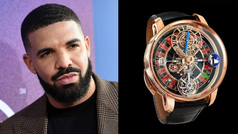 Drake Jacob & Co. Astronomia Casino watch