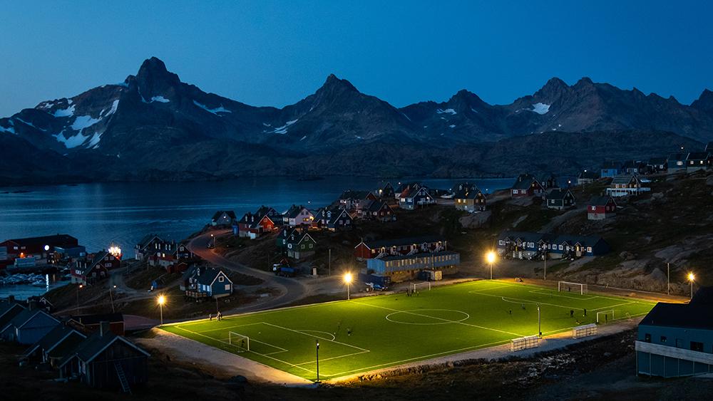 Tasiilaq soccer field