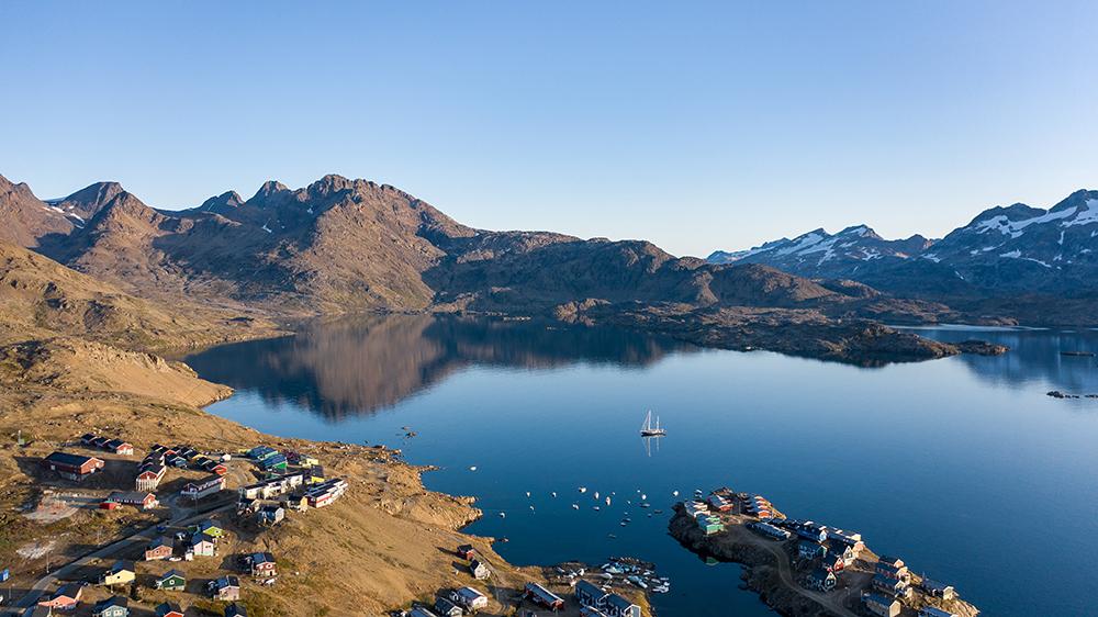 Tasiilaq Greenland view