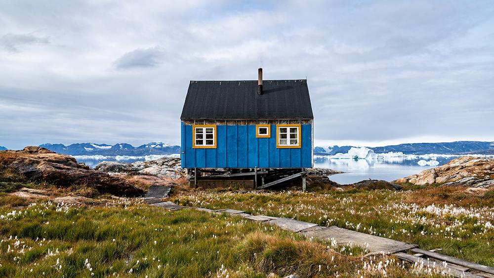 cottage in Tiniteqilaaq Greeland