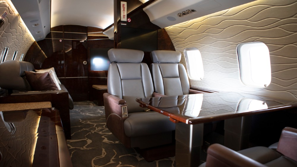 Private Fly Global Express interior