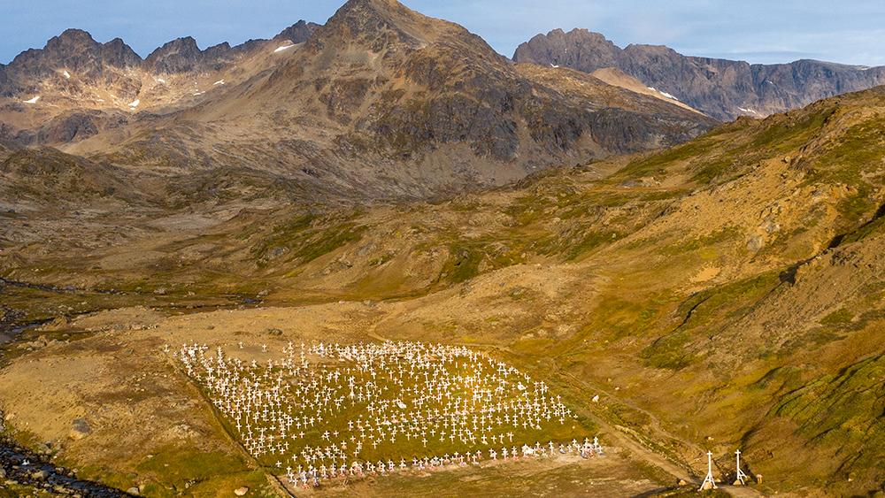 Tasiilaq cemetery