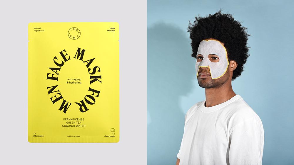 HeTime, a new line of face masks designed for men