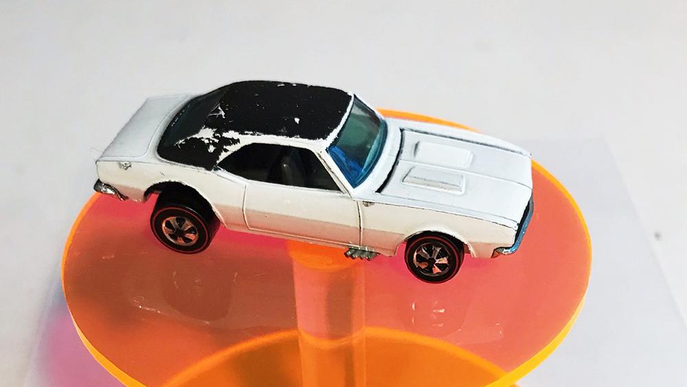 Joel Magee's rare Hot Wheels Camaro