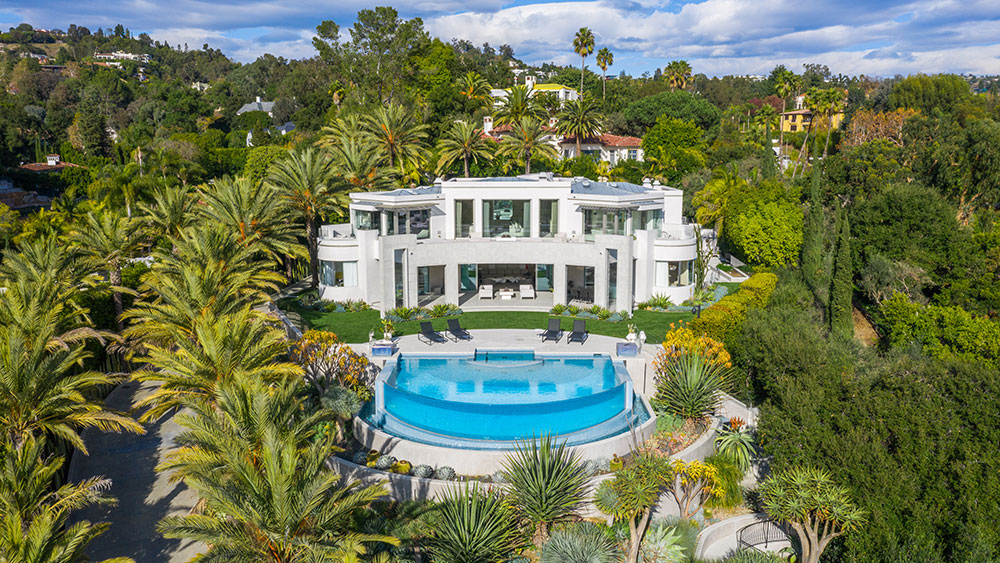 Zaha Hadid, Home, California