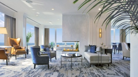 Hilton Chicago Imperial Suites redesign