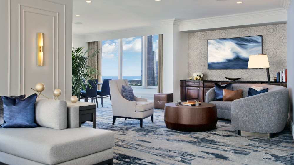 Hilton Chicago Imperial Suite redesign