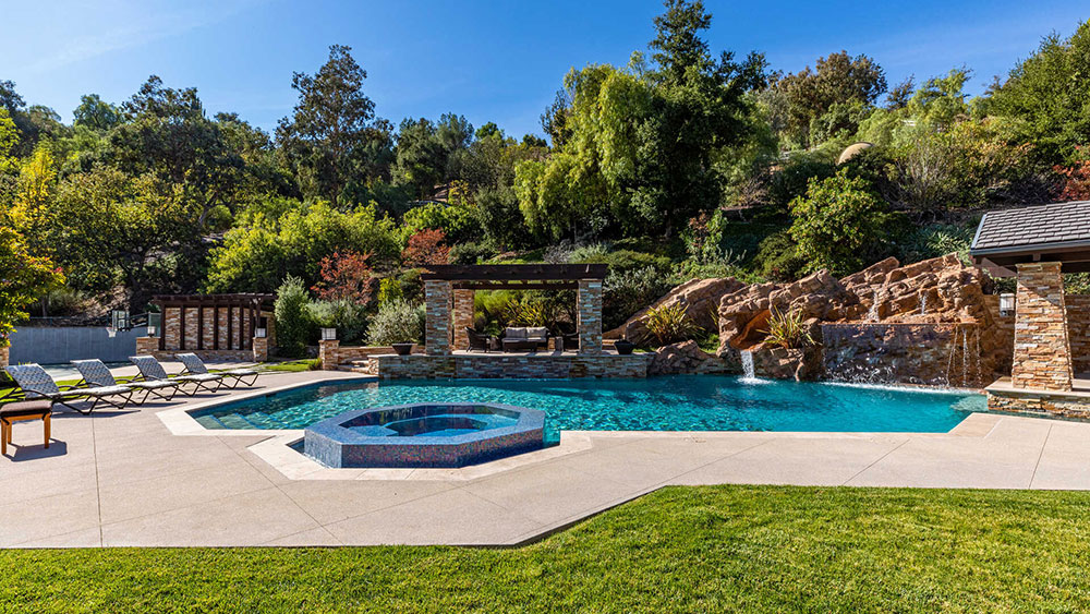 Pool, California, House, Star Wars