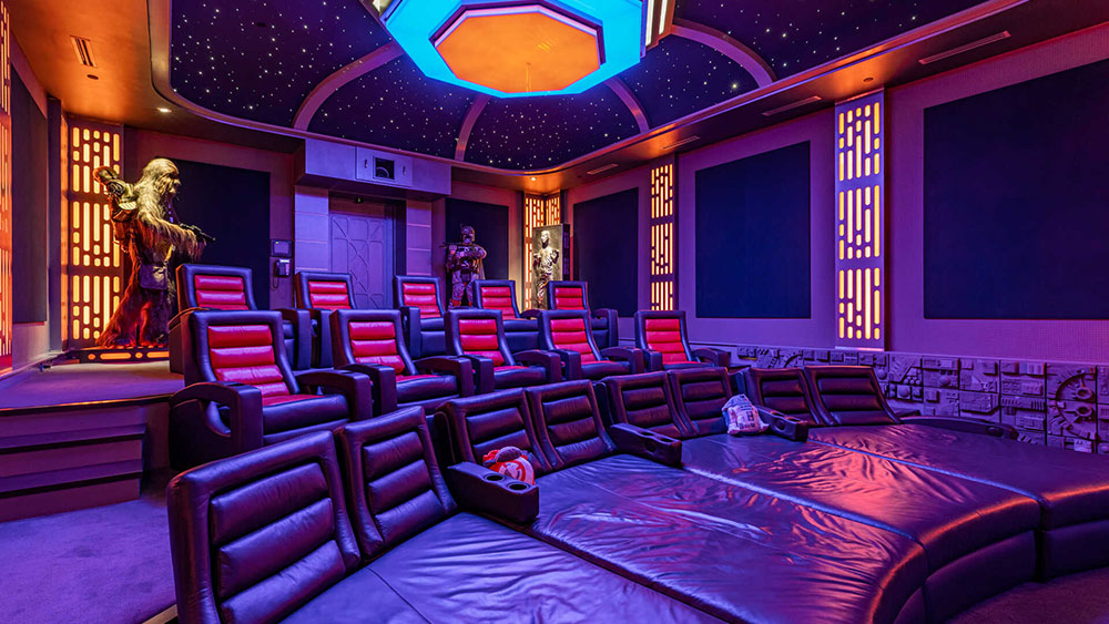 Movie, Theater, California, House, Star Wars