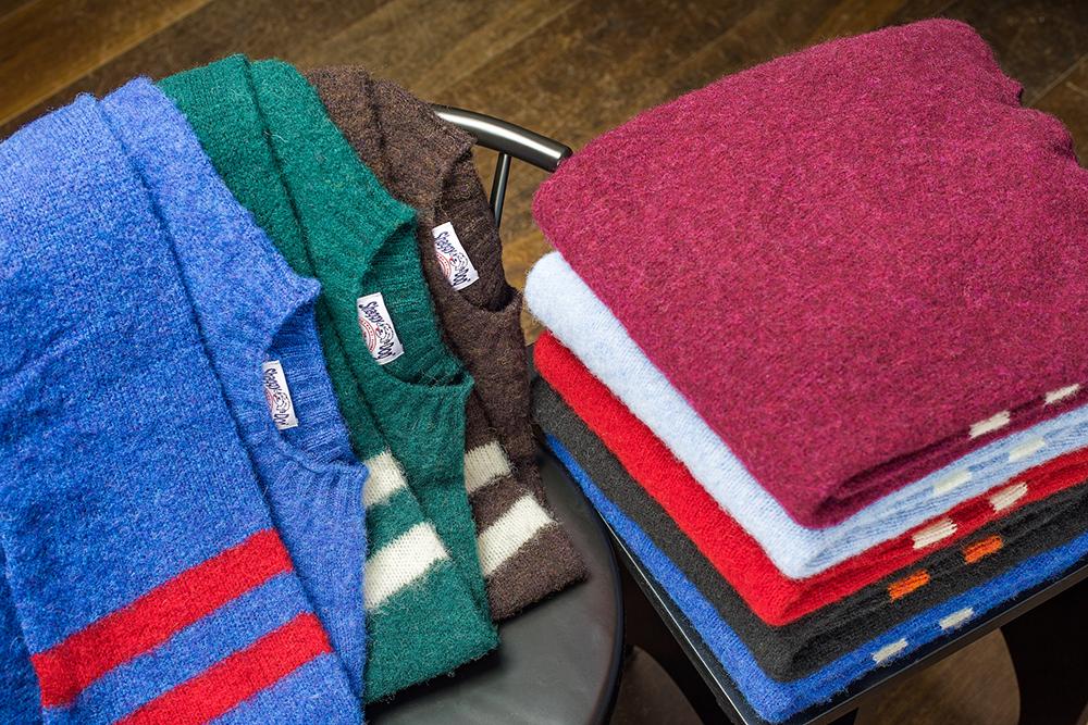 J.Press Shaggy Dog Sweaters