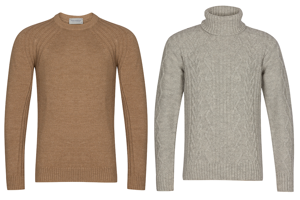 John Smedley Clio Sweater and Malcolm Turtleneck