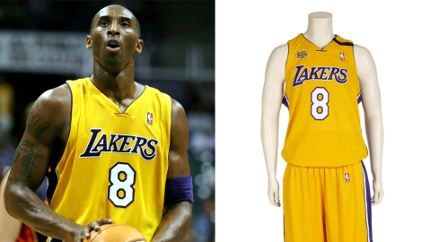 Kobe Bryant Number 8 Uniform