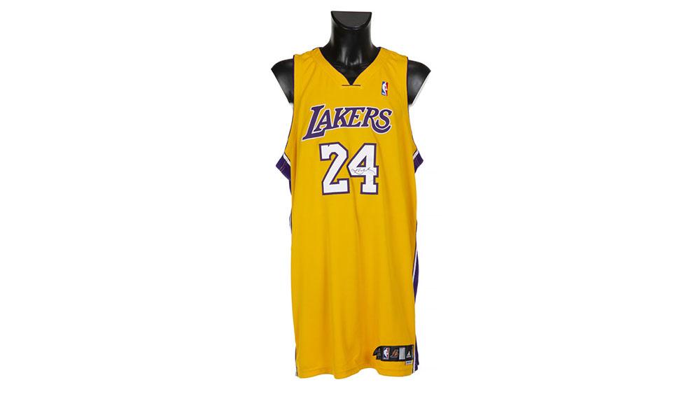 Kobe Bryant Number 24 Uniform