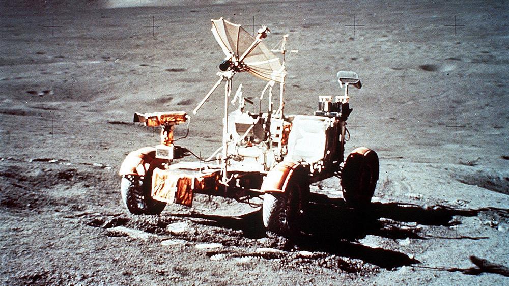 The Apollo 17 lunar rover