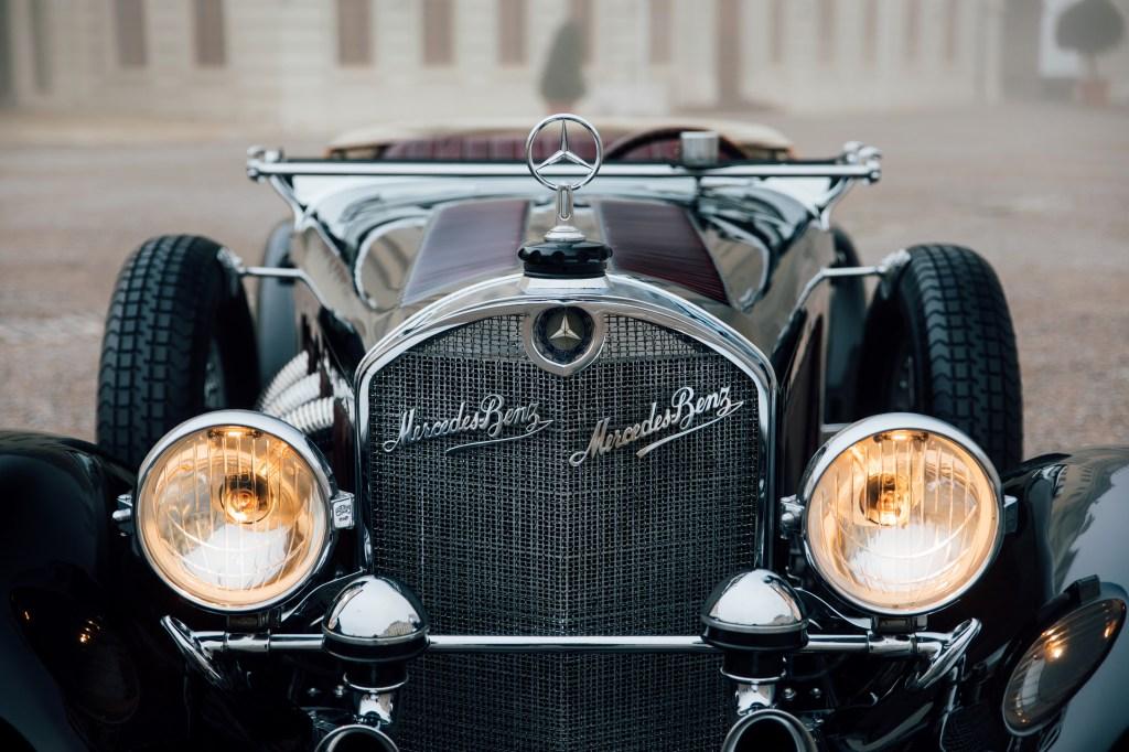 A 1929 Mercedes-Benz 710 SS 27/140/200hp Sport Tourer.