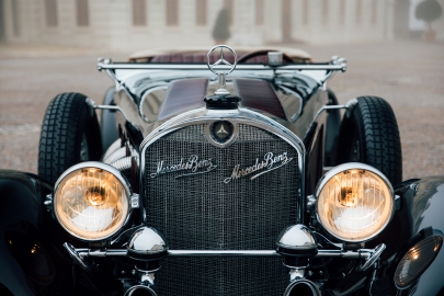 A 1929 Mercedes-Benz 710 SS 27/140/200hp Sport Tourer.