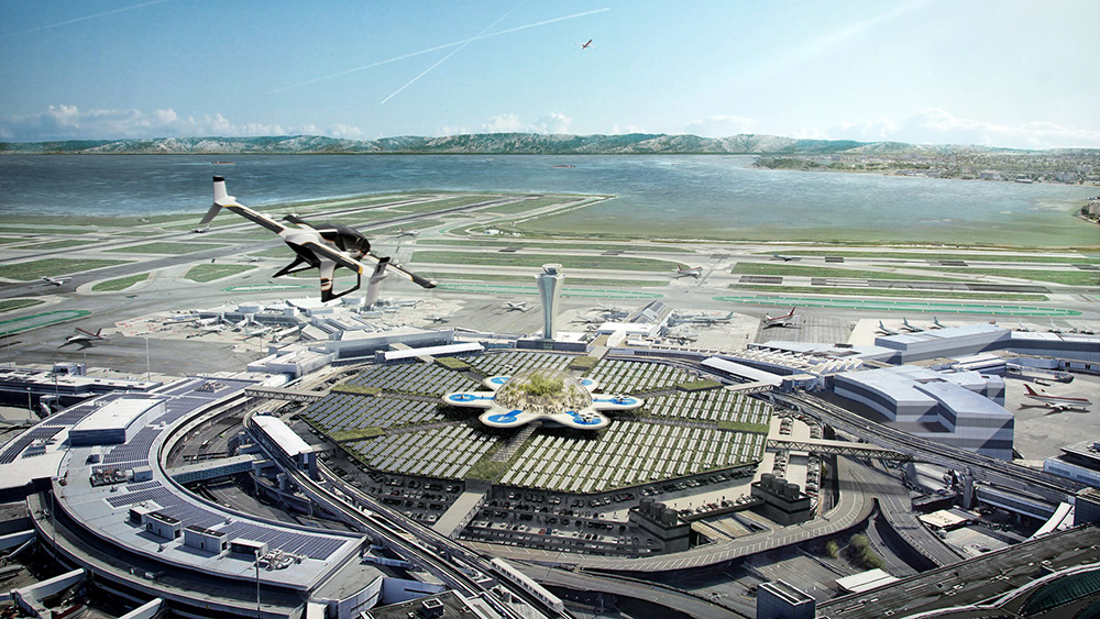 MVRDV Urban Air Mobility Plan