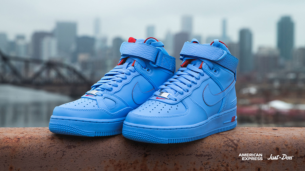 Just Don American Express Nike Air Force 1