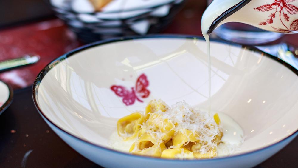 Gucci Osteria tortellini