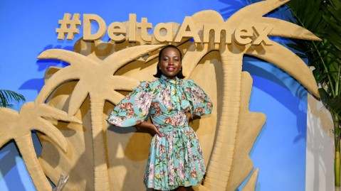 Lupits Nyong'o Delta American Express Africa travel