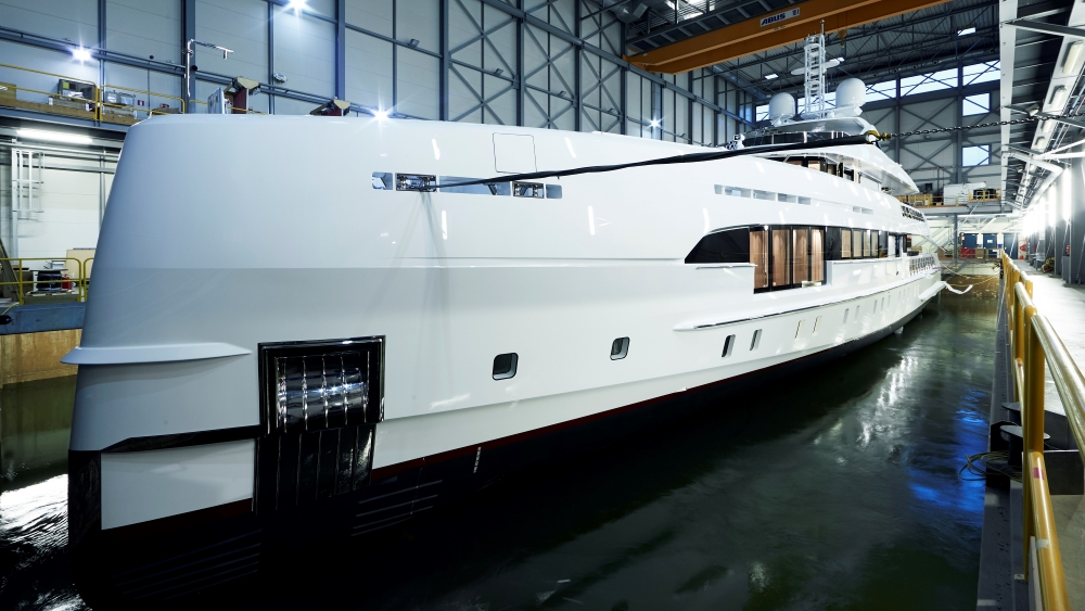 Heesen Project Electra Hybrid Superyacht
