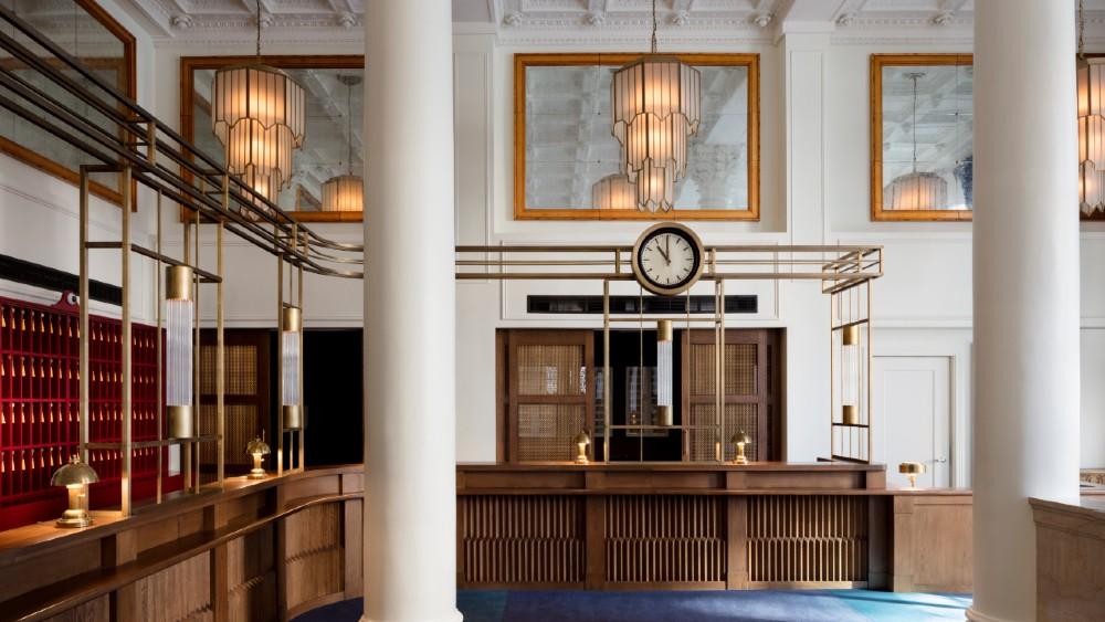 Riggs Washington DC historic hotel design