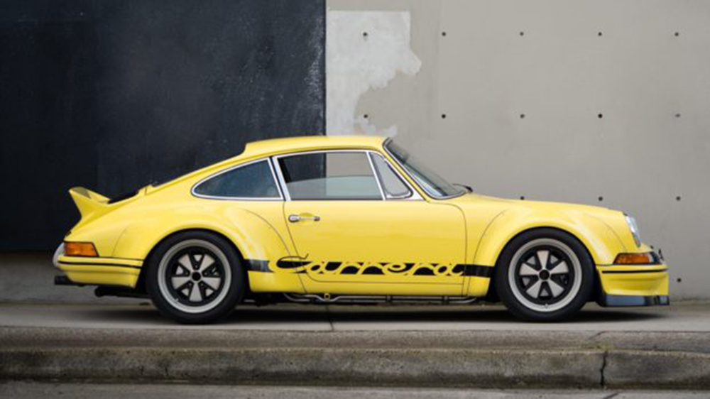 The RWB-backdated 1987 Porsche Carrera 911 coupé