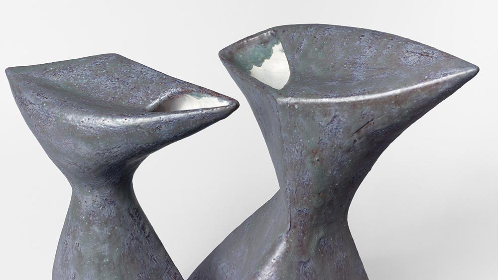 Double Vase by Valentine Schlegel