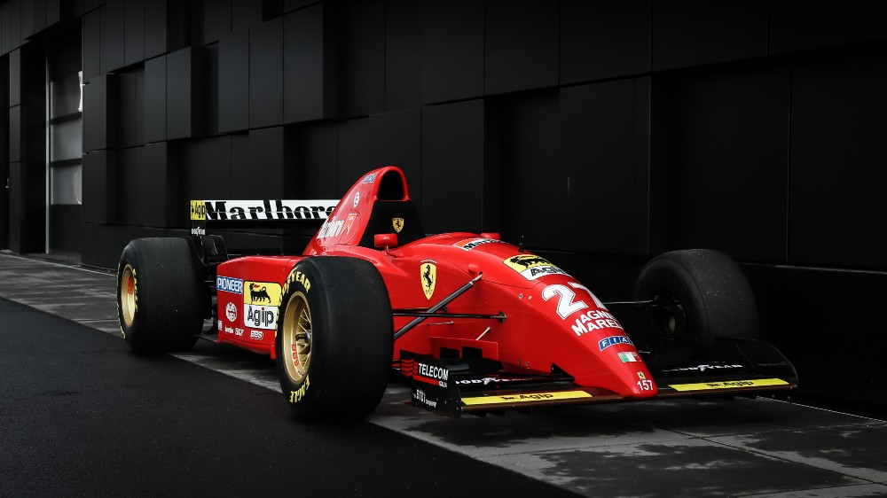 The 1995 Ferrari 412 T2