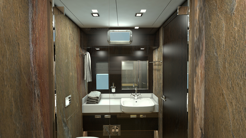 Serenity 74 Bathroom