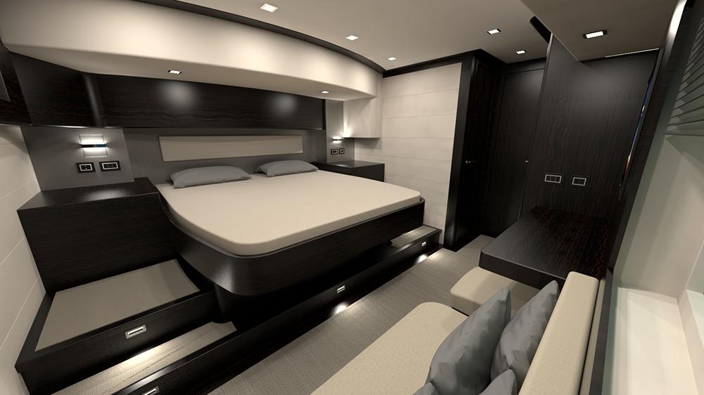 Serenity 74 Cabin